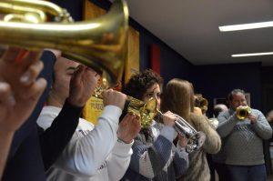 Concierto el sábado en la iglesia de la Vera Cruz de la Banda de CCTT 'Pureza' por el V aniversario de su creación