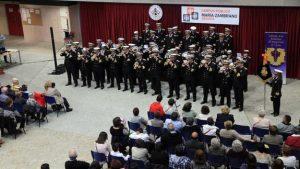 Banda Pureza en el certamen de Bandas Cofrades en recuerdo de Adrián Callejo Rubio.